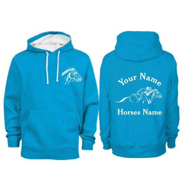 Persoanlised Horse Racing Hoodie