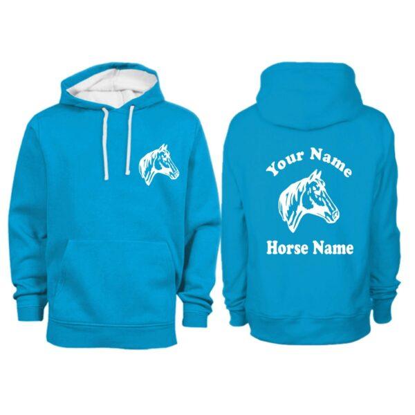 Personalised Horse Hoodie
