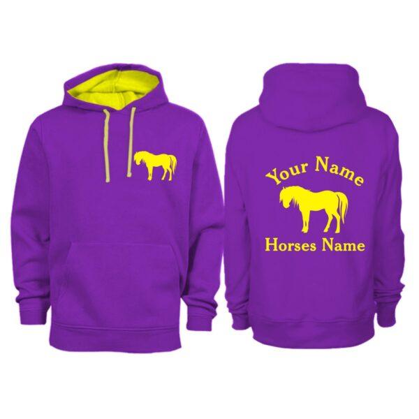 Personalised Adult Shetland Pony Hoodie