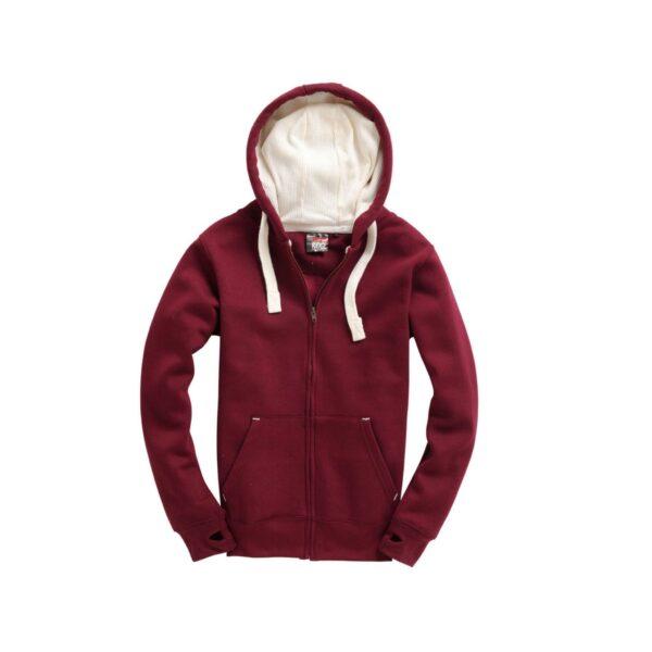 Maroon Ultra Premium Zip Hoodie