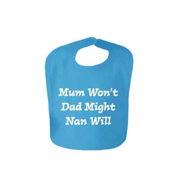 Funny Slogan Baby Bibs