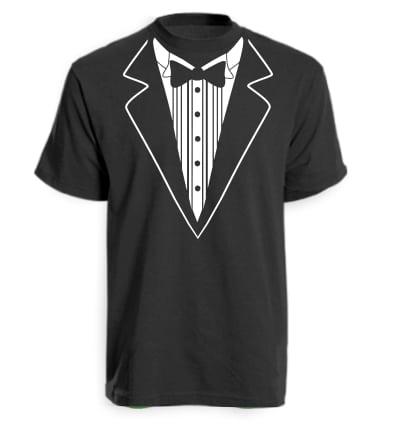 Black Tuxedo T-shirt
