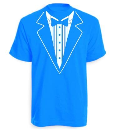 Sapphire Blue Tuxedo T-shirt