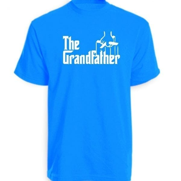 The Grandfather T-Shirt sapphire Blue