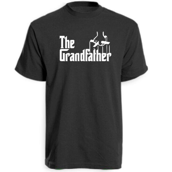 The Grandfather T-Shirt Black