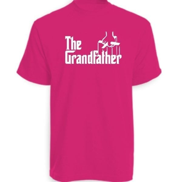 The Grandfather T-Shirt Hot Pink