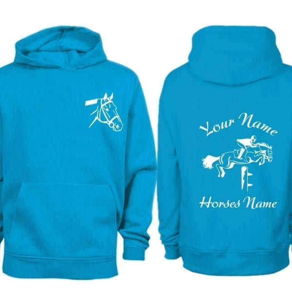 Sapphire Blue Show Jumping Hoodie